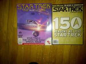 Star Trek.....2 Magazines from 2002 and 2004...Rare