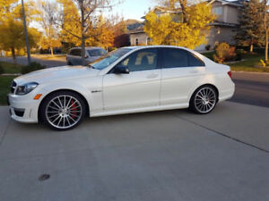 2012 Mercedes-Benz C-Class C63 AMG Sedan