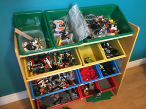 Toy Storage Rack with 12 Containers