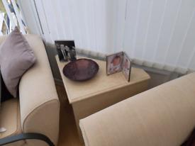 Beige marble table