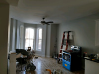 Painting and renovations