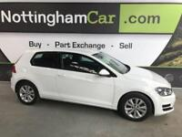 2014 14 VOLKSWAGEN GOLF 1.4 SE TSI BLUEMOTION TECHNOLOGY 3D 120 BHP