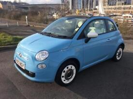 2013 FIAT 500 C COLOUR THERAPY CONVERTIBLE PETROL