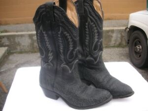 MENS SIZE 7 1/2 WESTERN BOOTS