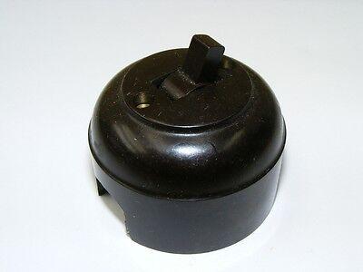 Old Bakelite Wall Light Switch Switch Ap Toggle, Loft