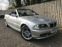 2003 52 BMW 318 2.0 Ci CONVERTIBLE 87k 5 SPEED MANUAL 150 BHP 47.1 MPG P/X