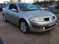 2005 Renault Megane 2.0 Coupe 6sp Dynamique Full Leather Interior