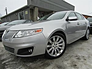 Lincoln MKS 4dr Sdn AWD CUIR TOIT NAVIGATION  2009