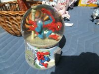 Spiderman Snow Globes-Musical-Marvel-Mint