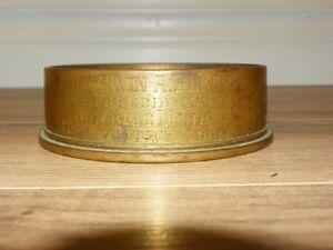 WW2 Brass Gunshell Ashtray