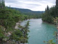 100 acres of beautiful waterfront property on Adams River