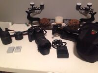 Canon T2i starter kit with extras!!!
