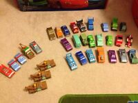 Wooden Disney Cars Collection