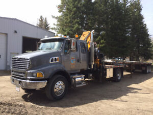 2006 STERLING PICKER TRUCK & 35' OILFIELD HI-BOY OWNER/OPERATOR