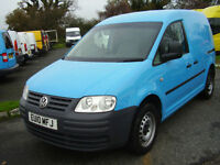 2010 VOLKSWAGEN CADDY C20 PLUS SDi 26,000 MILES.