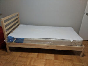 Ikea Tarva Bedframe(with or without Matress)