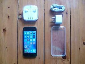 PHONE 5S 16GB UNLOCKED BLACK ACCESSORIES GOOD CONDITION Mortdale Hurstville Area Preview