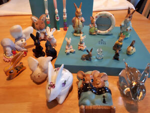 Collection de lapins, Nice collection of bunnies.