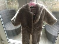 Ted baker girls winter suit 0-3 months