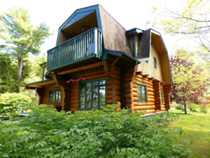 4 Bedroom House for Sale; Made from British Columbia Red Pine