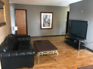 2 BEDROOM FURNISHED APARTMENT, INCLUDES WIFI & UTILITIES