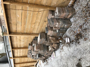 Patio Stone Bricks for free- for a driveway or path