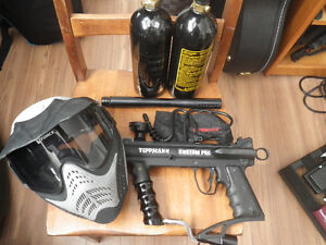 Tippmann Custom Pro with extras