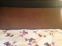 Brown King Size Headboard