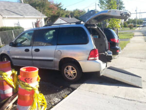 Accessible Ford Freestar 2007 for parts or repair