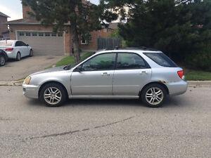 2004 Subaru Impreza Hatchback (New All Season Tires 10,000km)