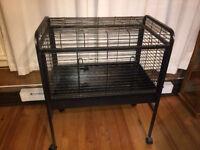 Cage de métal pour rongeur / lapin / hérisson