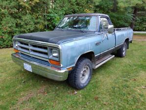 1987  Dodge Ram Pickup Truck