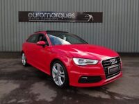 Audi A3 2.0 TDI 150PS S line (red) 2013