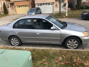 2003 HONDA CIVIC FOR SALE $750 As is!