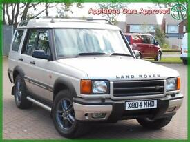 2000 (X) Land Rover Discovery 2.5 Td5 GS 7 Seater