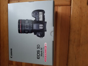 Brand New Canon EOS 5D Mark IV with EF 24-70mm F4L IS USM lens