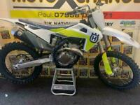 2021 HUSQVARNA FC 250....UNUSED....0.1 HOURS...EX DEMO...£7895....MOTO X CHANGE