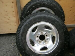Ford F150 rims with winter tires