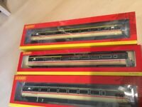 Hornby OO Gauge Intercity Mk 3 Coaches - Job Lot - all excellent as new condition