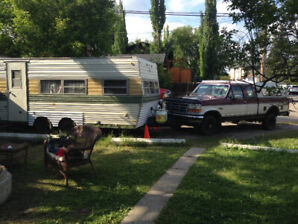 Truck and trailer READY To Go ! for $4000!