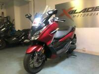 Honda NSS 125 Forza Automatic Scooter, 2019, Red, 1 Owner, Very Good Condition