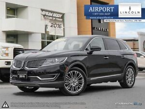 Lincoln MKX AWD Reserve with only 75,100 kms 2016