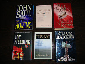 BOOKS, BOOKS AND MORE BOOKS - $3.00 EACH (HARDCOVER)