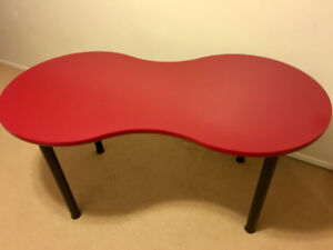 Table for Sale: IKEA Red HISSMON Table - $20