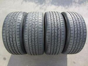 215/55/18 Continental Conti Pro Contact All season 4 used tires 75%Tread left