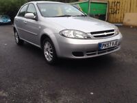Chevrolet Lacetti SX2007 Very Low miles Fresh Mot Hpi Clear