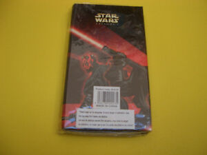 STAR WARS EPISODE 1 DARTH MAUL FIGURE, NOTEBOOK, APPLAUSE London Ontario image 3