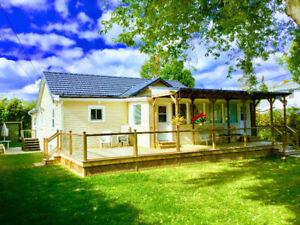 Lake Simcoe Snowfer Cottage rent 45min.Fr.To.100yd.Fr.Lake fron