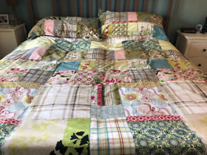 Essenza king sized duvet cover and shams