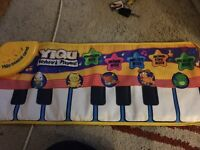 Baby/toddler musical keyboard